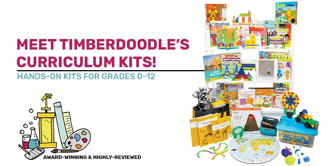 Timberdoodle's 2021 Curriculum Kits
