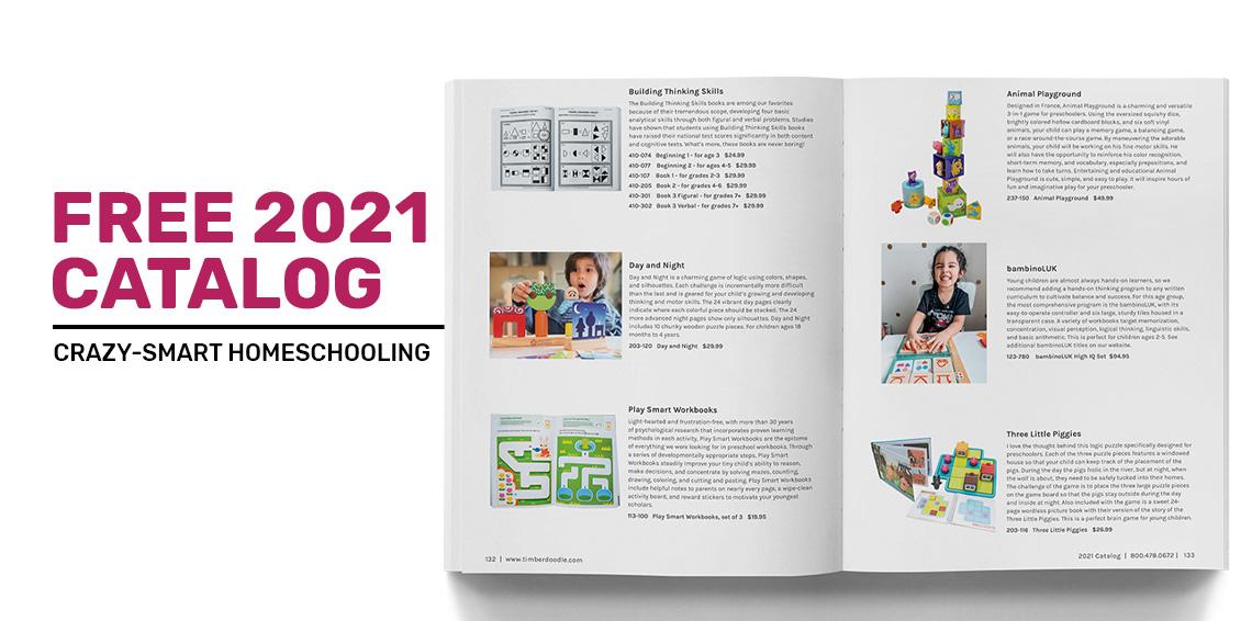 2021 Timberdoodle Catalog